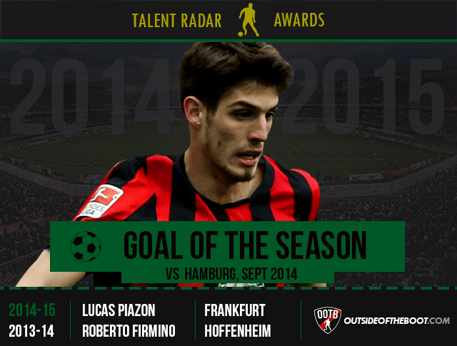 Talent Radar Goal of the Season 2014-15