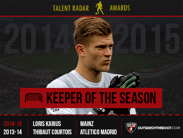 Talent Radar Keeper of the Season 2014-15