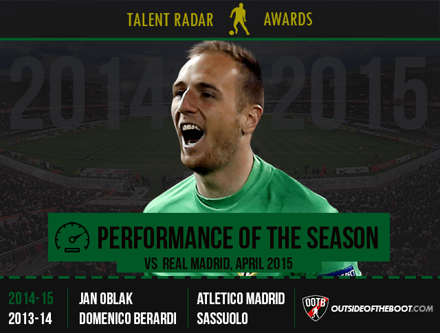 Talent Radar Performance of the Season 2014-15