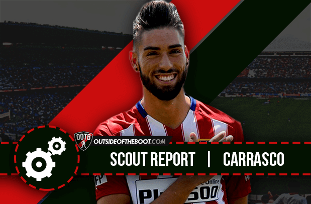 Yannick Ferreira Carrasco Atletico Madrid 2015