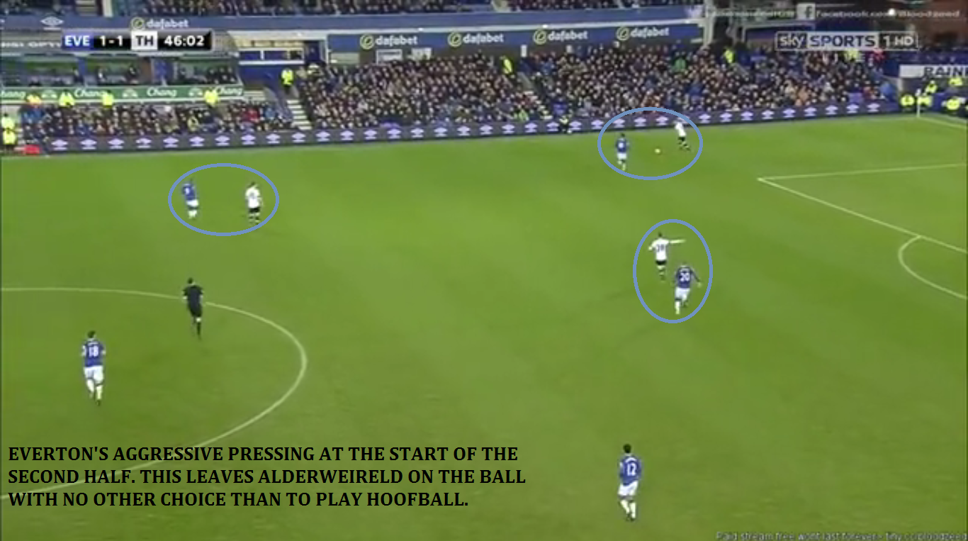 [2] Everton solid pressing shape from the front