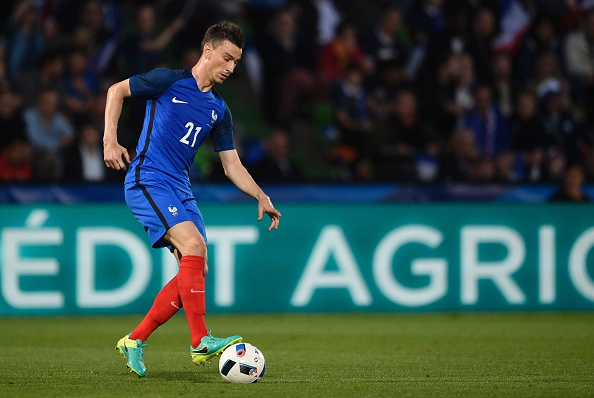 France's defender Laurent Koscielny controls the ball during the friendly football match between France and Scotland, at the Saint Symphorien Stadium in Metz, eastern France, on June 4, 2016, in preparation of the UEFA Euro 2016. France defeated Scotland 3-0. / AFP / JEAN-CHRISTOPHE VERHAEGEN (Photo credit should read JEAN-CHRISTOPHE VERHAEGEN/AFP/Getty Images)