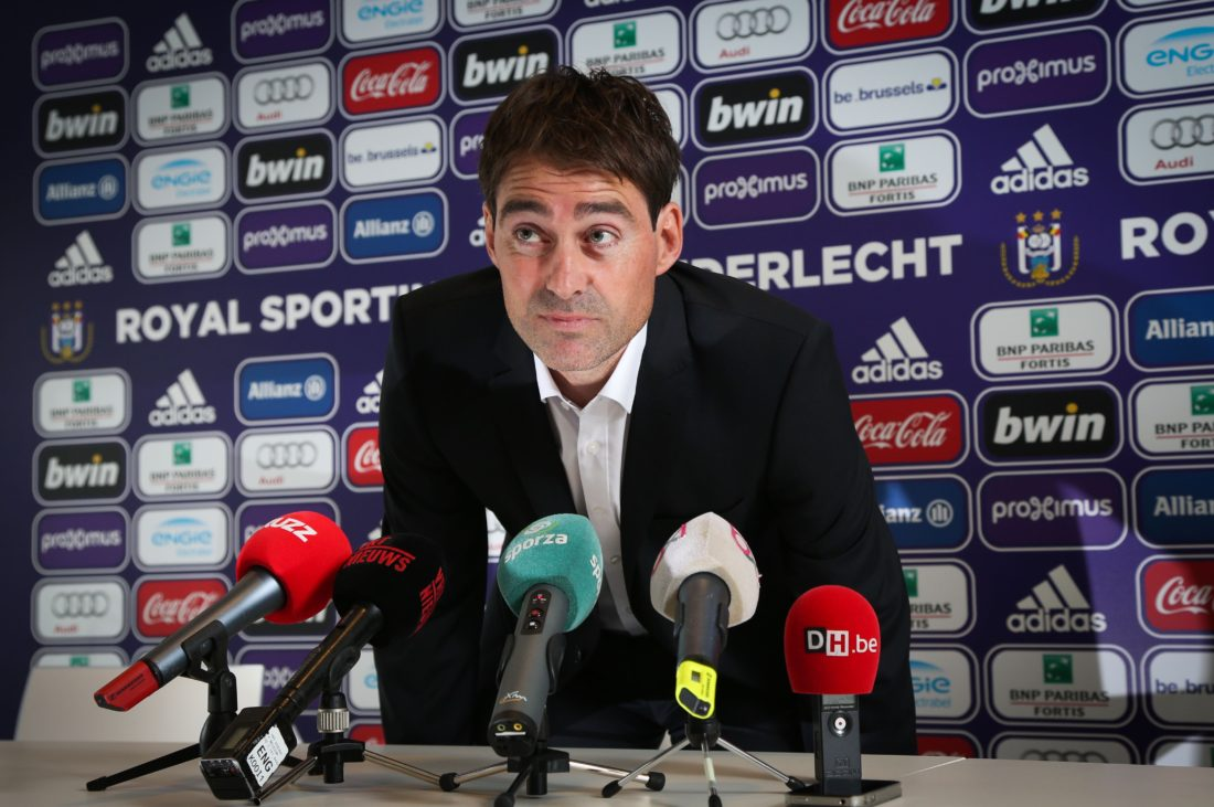 Rene Weiler was appointed Anderlecht head coach, to replace Besnik Hasi. VIRGINIE LEFOUR / AFP / Getty Images