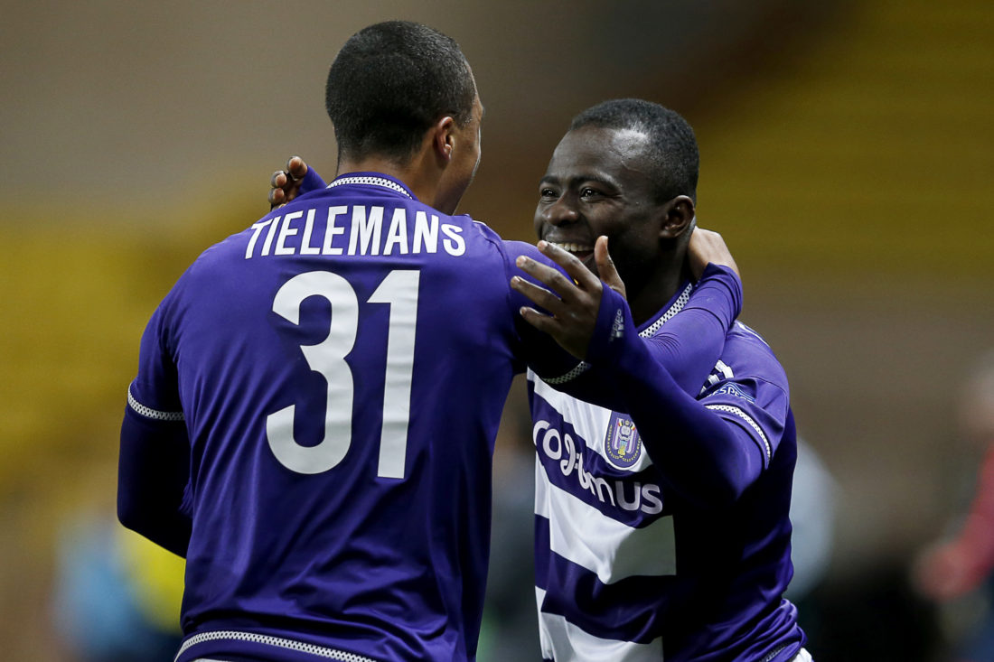 Frank Acheampong and Youri Tielemans are set to have crucial roles again with Anderlecht. VALERY HACHE / AFP / Getty Images