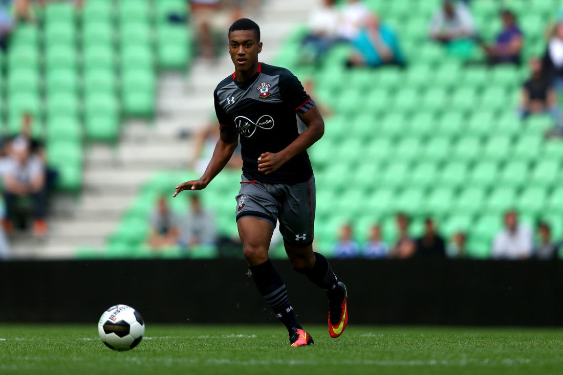 Yan Valery could be the latest graduate of Southampton's famed academy. CHRISTOF KOEPSEL / Getty Images