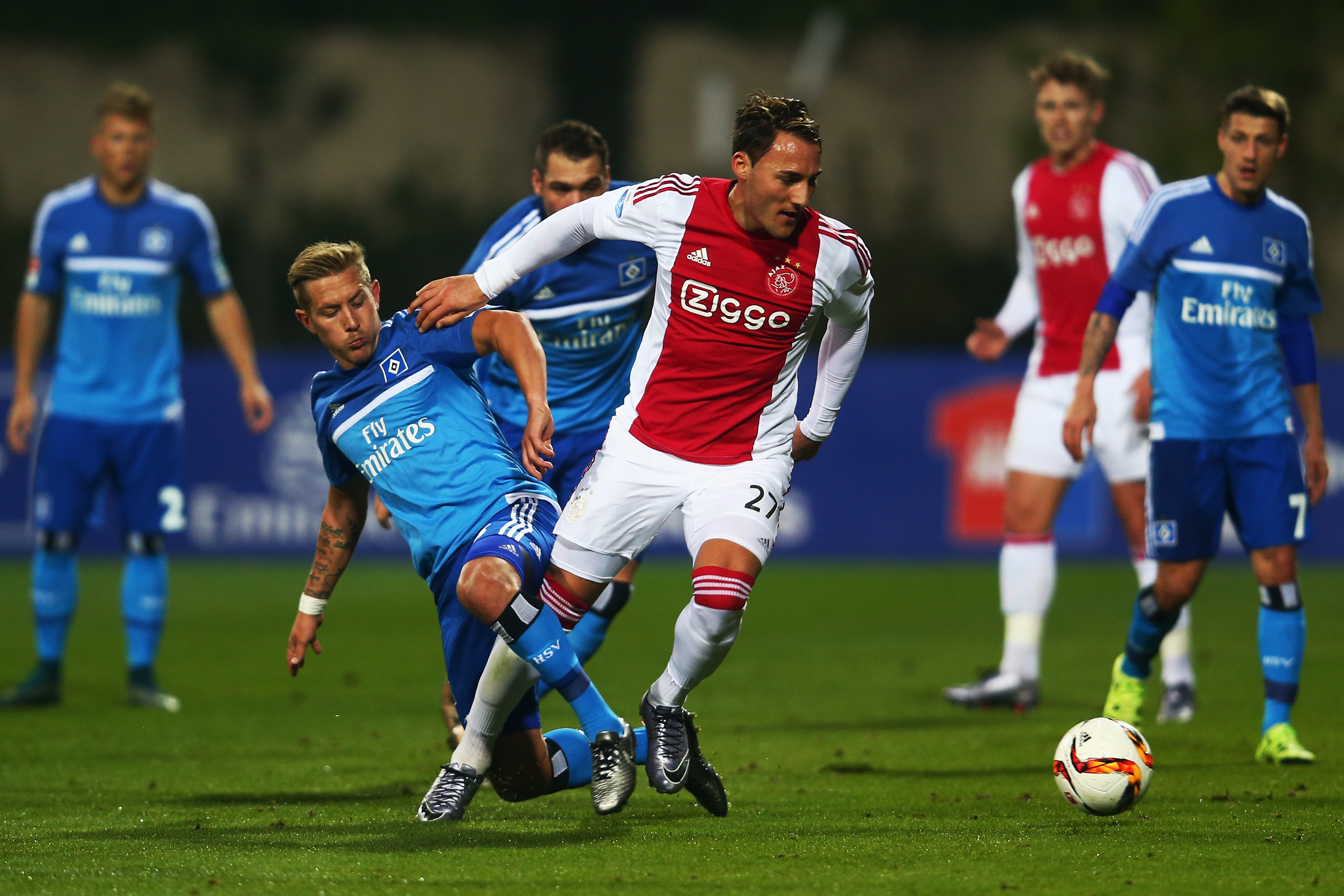 Nemanja Gudelj is set to have a crucial season for Ajax. / Alex Grimm / Bongarts
