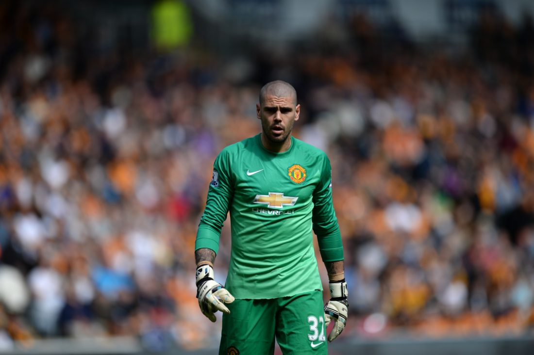 Victor Valdes needs to resurrect a career that has been on a downward spiralm with his Manchester United stint the latest calamity. OLI SCARFF / AFP / Getty Images