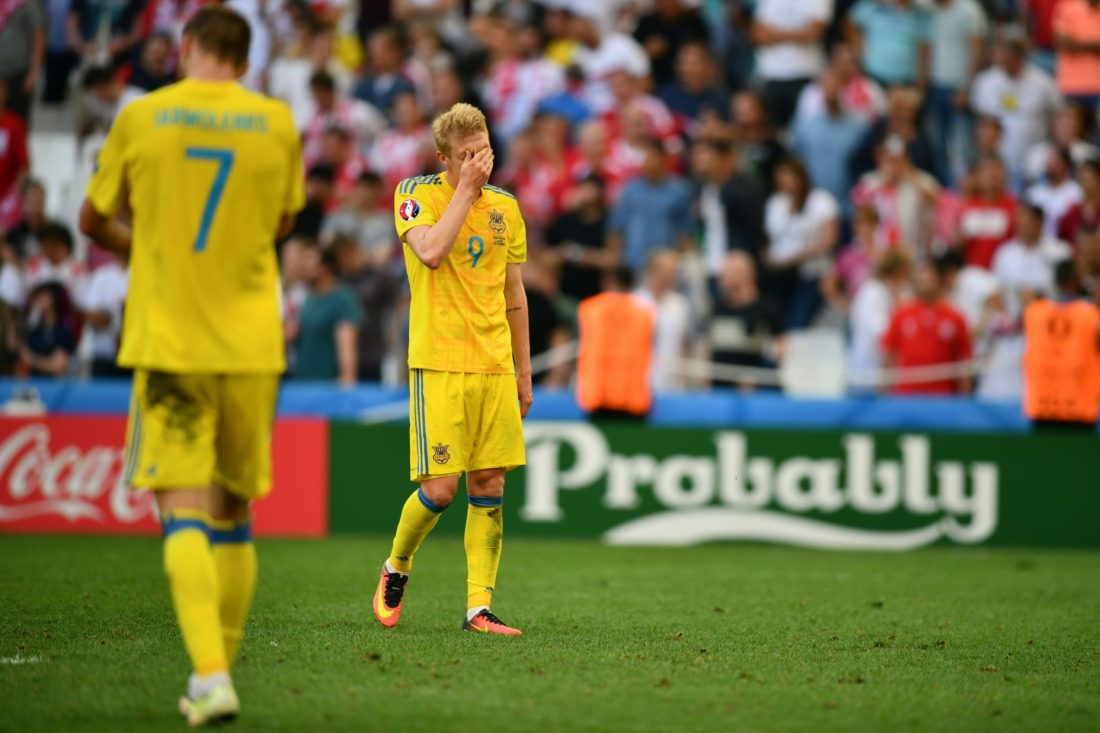 Viktor Kovalenko was part of Ukraine's disappointing Euro 2016 campaign. BERTRAND LANGLOIS / AFP / Getty Images
