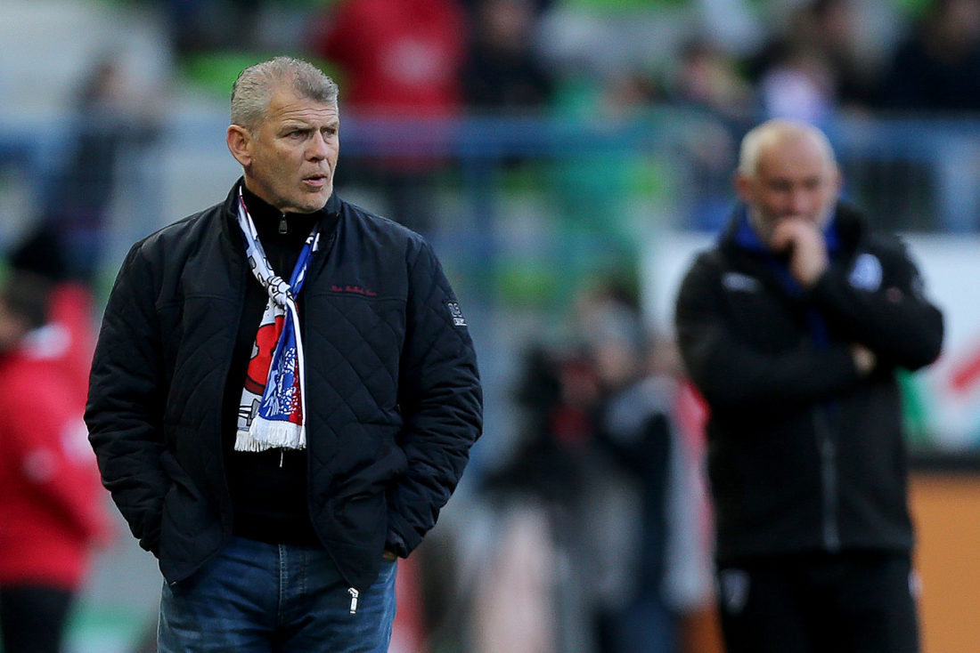 Patrice Garande has been on Caen's coaching staff since 2005. CHARLY TRIBALLEAU / AFP / Getty Images