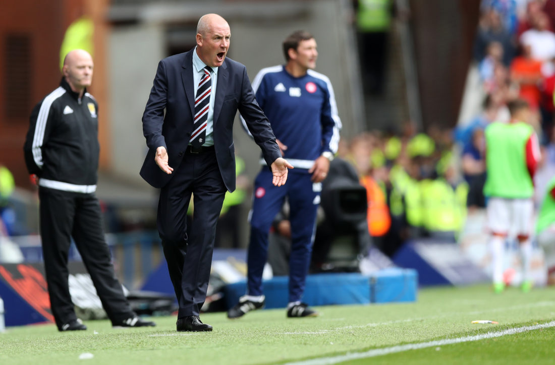 Rangers manager Mark Warburton was named PFA Scotland Manager of the Year for the 2015-16 season. LYNNE CAMERON / Getty Images)