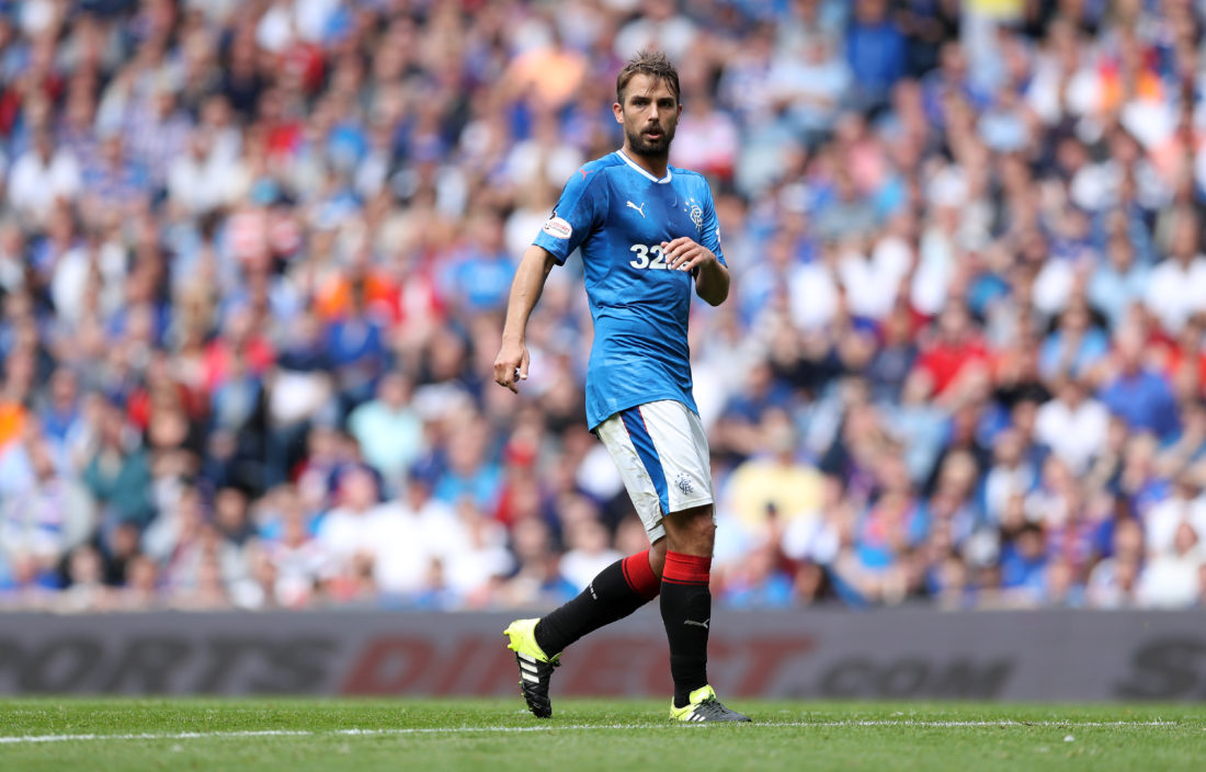 Niko Kranjcar brings experience into the Rangers side. LYNNE CAMERON / Getty Images