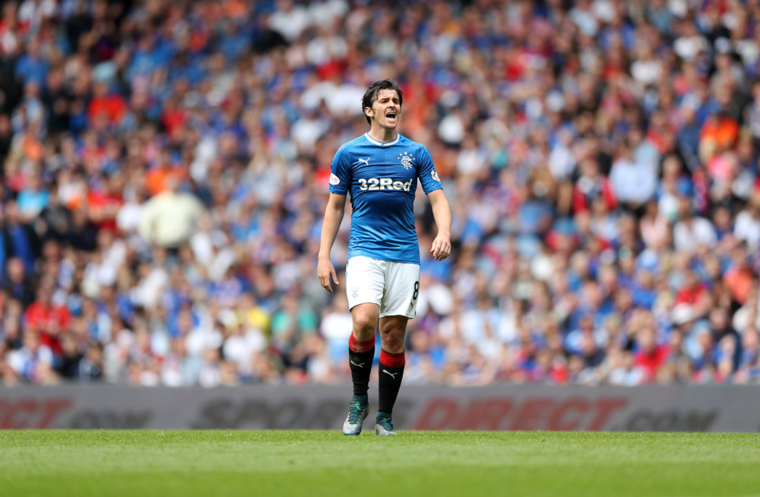 Joey Barton's experience and reputation will be immense for the success of Rangers this season. LYNNE CAMERON / Getty Images
