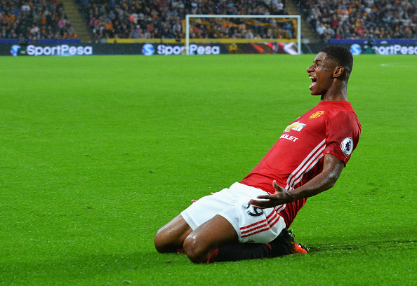 Image result for Marcus Rashford 2016-17