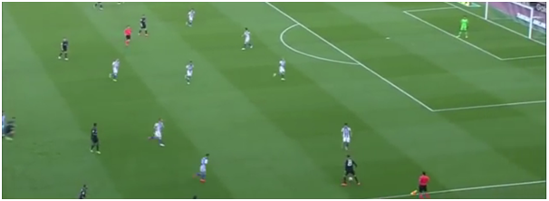 Morata drifting into wide area from no.9 position