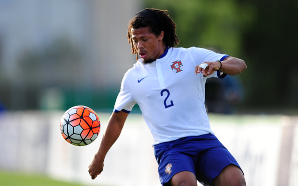 TOULON, FRANCE - MAY 27: Hildeberto Pereira of Portugal during the Toulon Tournament match between Portugal and Paraguay at the Stade Leo Lagrange on May 27, 2016 in Toulon, France. (Photo by Harry Trump/Getty Images)
