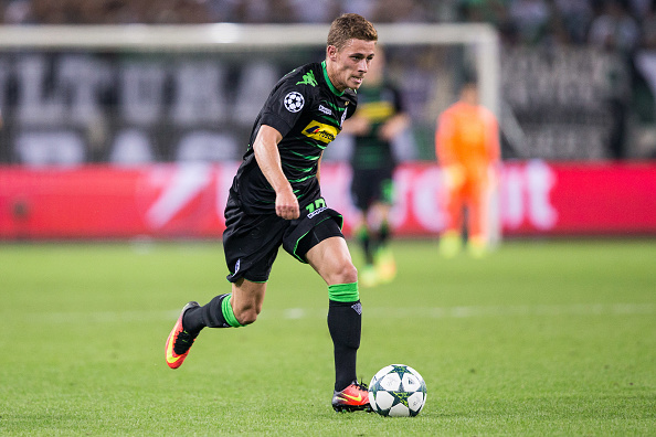 Thorgan Hazard in Champions League action. Maja Hitij / Bongarts /Getty Images