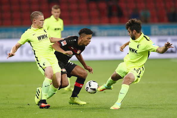 Henrichs has been gaining some valuable first-team experience in the Bundesliga this season | Photo by Alex Grimm / Bongarts / Getty Images
