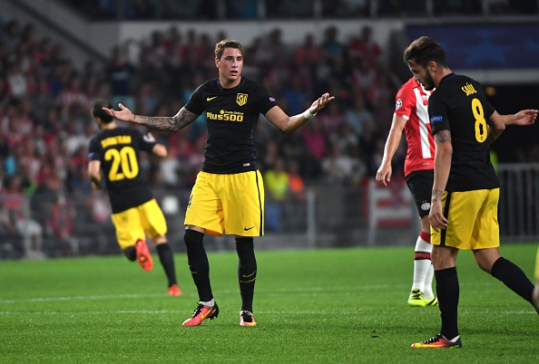 Jose Gimenez put in a solid display against PSV Eindhoven. EMMANUEL DUNAND / AFP / Getty Images