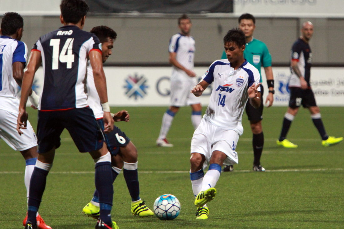 Lyngdoh's style of play has certainly won over the fans