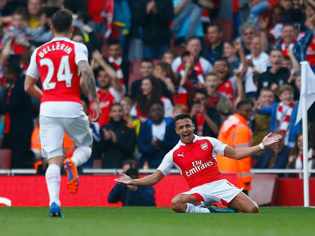 Alexis Sanchez's brace against Man U silenced Wenger doubters (for at least a little bit) (Source: SportsMole.co.uk)