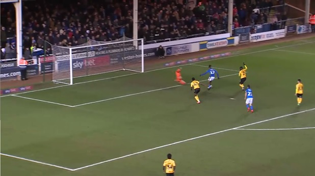 Keeper diving too early